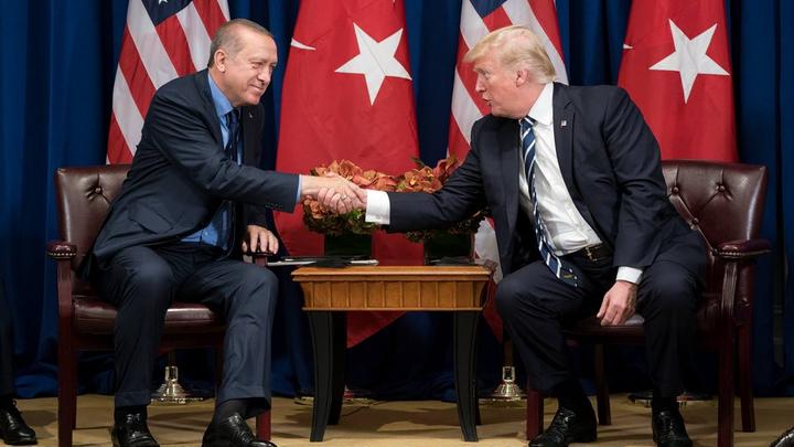 Трамп и Эрдоган обсудили поставки американского оружия в Турцию
