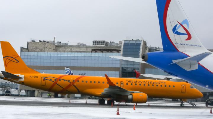 Саратовские авиалинии ограничили в полетах до конца мая