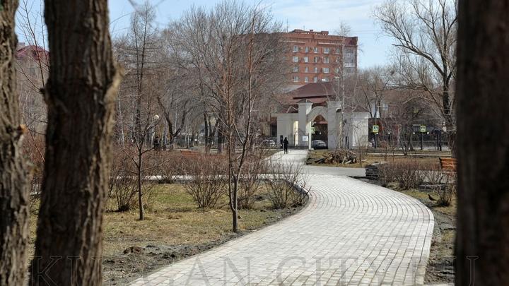 В Кургане на подсветку горсада потратят 9 млн рублей