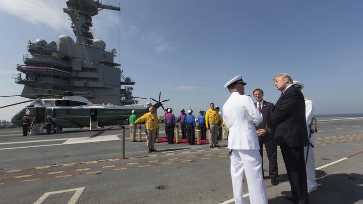 Самый дорогой авианосец ВМС США оказался не готов к круглосуточному бою - СМИ