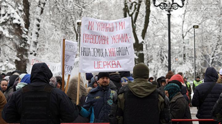 Бал сатаны в Песках: Захват храмов на Украине ставят на поток