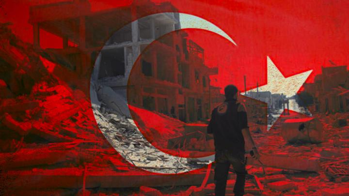 Падение центра террористов в Сирии попытались приостановить турки