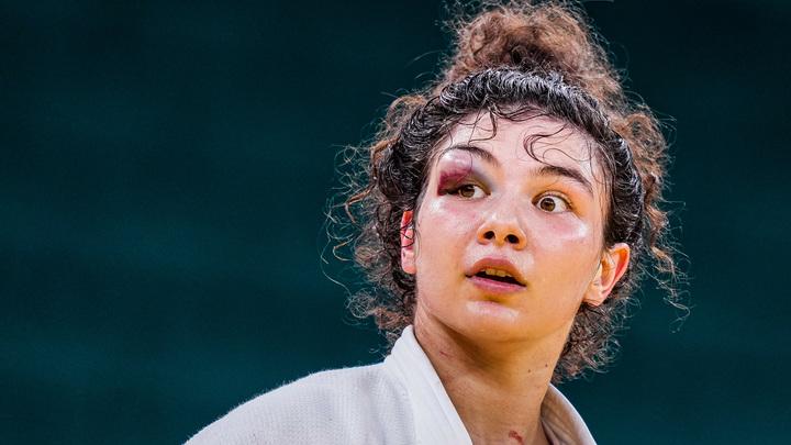 Дзюдоистка Мадина Таймазова из Петербурга взяла бронзу Олимпиады, даже не видя правым глазом