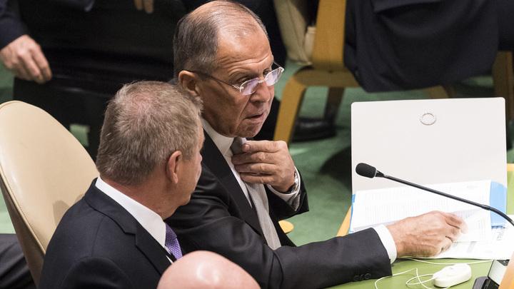 Лавров не пришел послушать выступление Порошенко на заседании Совбеза ООН