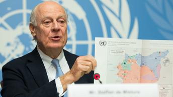 Стаффан де Мистура примет участие в переговорах по Сирии в Астане