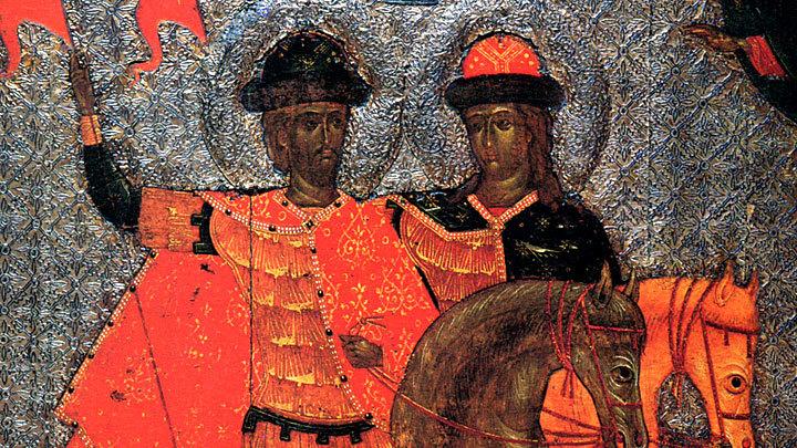 Благоверные князья-страстотерпцы Борис и Глеб. Православный календарь на 6 августа