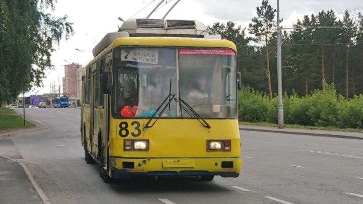 Из-за остановки троллейбусов утренний Кемерово встал в пробках