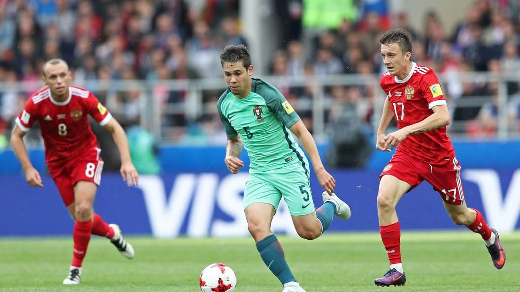 Португалия обыграла сборную Российской Федерации наКубке конфедераций