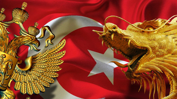 Турция ищет убежища под крылом России и Китая