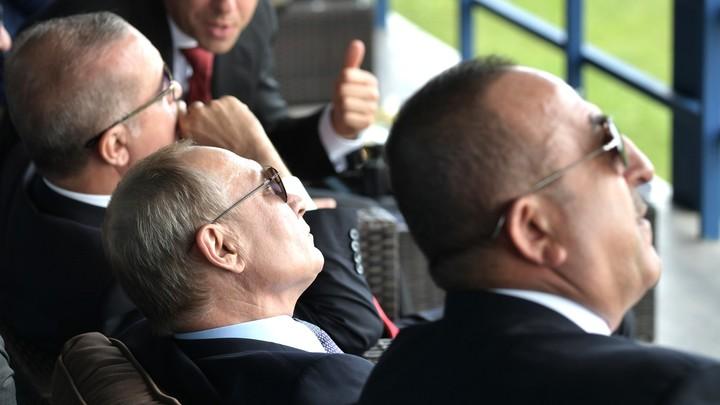 Контрольный разговор с Путиным: Эрдоган позвонил в Москву, начиная операцию в Сирии