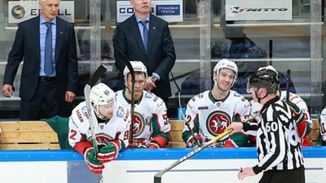 «АкБарс» обыграл «Амур» ивышел вследующий раунд плей-офф КХЛ