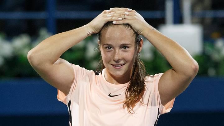 Дарья Касаткина выиграла в номинации Прорыв месяца WTA