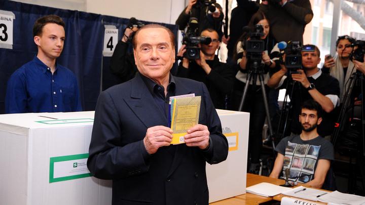 Берлускони оставил за собой роль режиссера правоцентристской коалиции