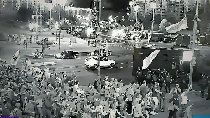 О чём молчит NEXTA: Омоновцы в Минске просили протестующих помочь, но не были услышаны