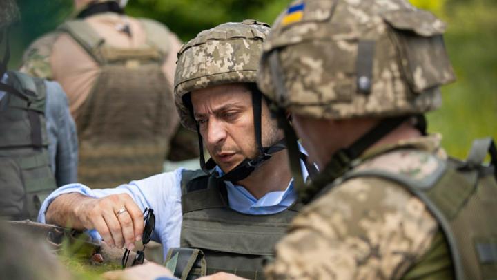 Зеленский ради победы на выборах устроит бойню в Донбассе