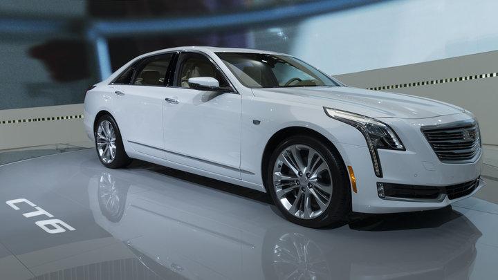 Российские цены на флагманский седан Cadillac CT6 будут начинаться от 4 млн рублей