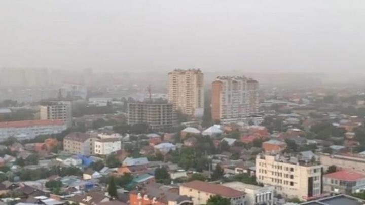 Города Краснодарского края накрыла пыльная буря