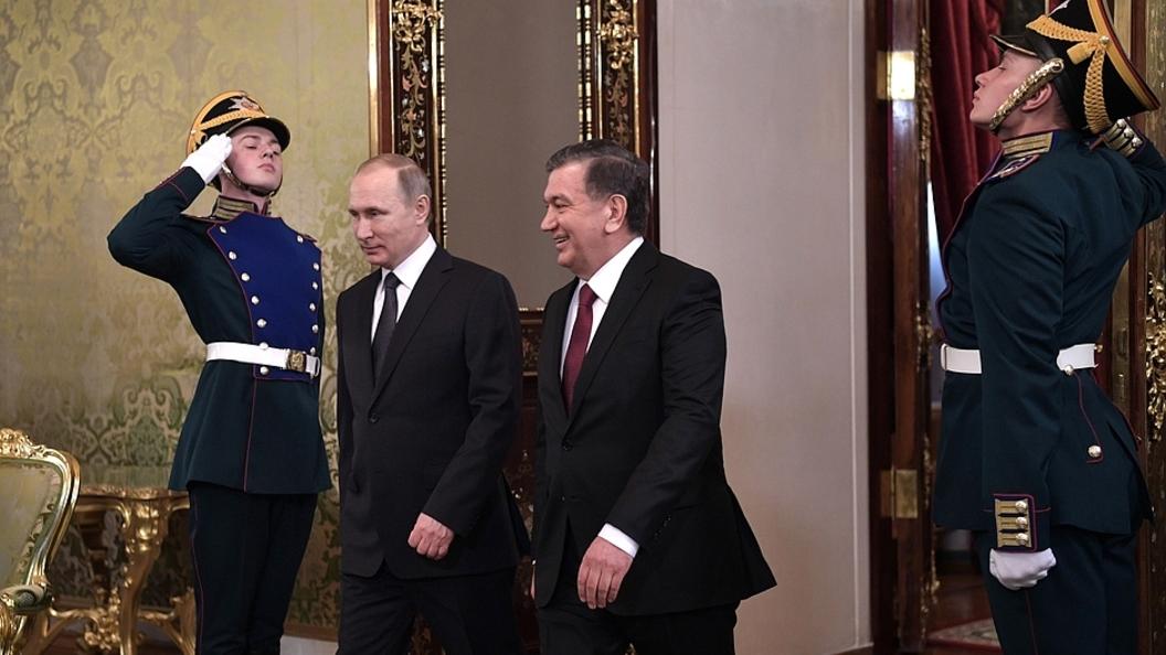 Владимир Путин назвал рекорды в развитии отношений России и Узбекистана