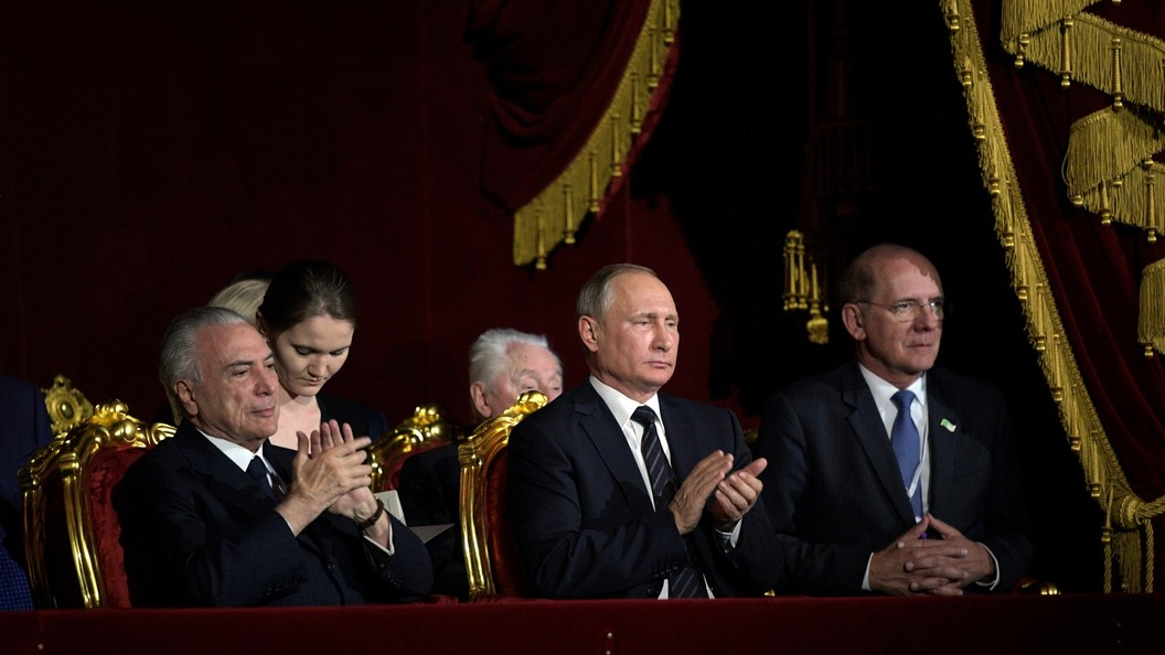 Россия и Бразилия договорились остратегическом внешнеполитическом диалоге