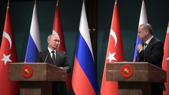 Путин и Эрдоган скоординировали планы по Сирии