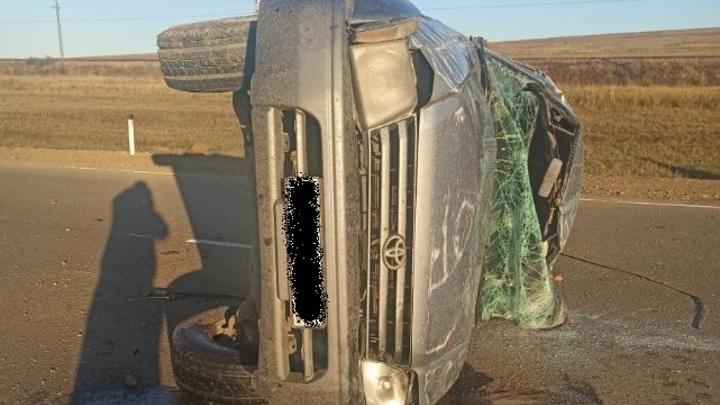 В Борзинском районе в ДТП с Toyota Land Cruiser Prado погибли четыре человека