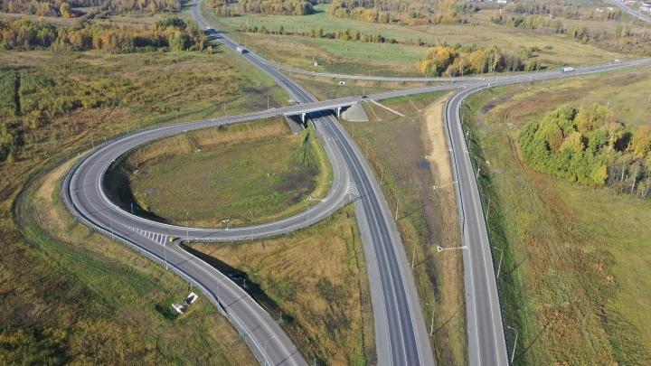 В Кузбассе завершено строительство автодороги в обход Мариинска