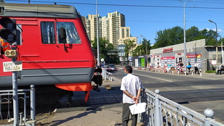 РЖД предупредил об ограничении движения на двух переездах в Чите