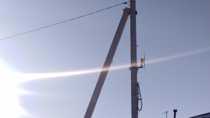 Посёлок Усть-Карск подключили к мобильному интернету