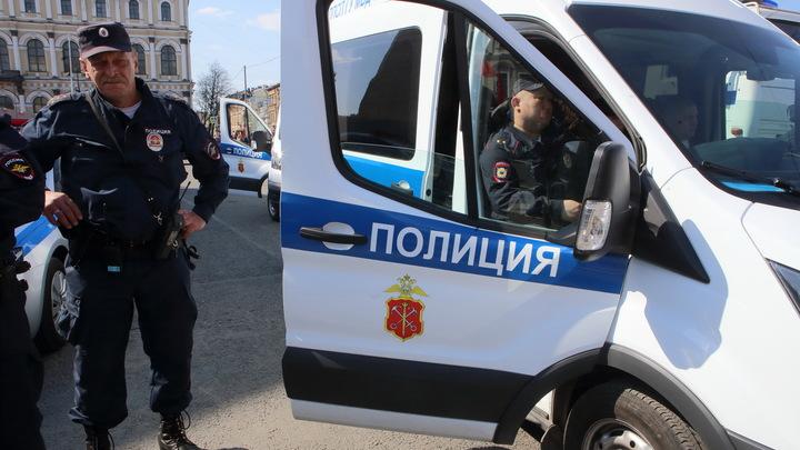 Отбросило на тротуар: В Петербурге автомобиль влетел в толпу пешеходов