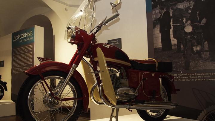 В Суздале открылась выставка мотоциклов советской эпохи