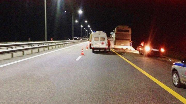 Под Екатеринбургом в ДТП пострадал пассажирский автобус