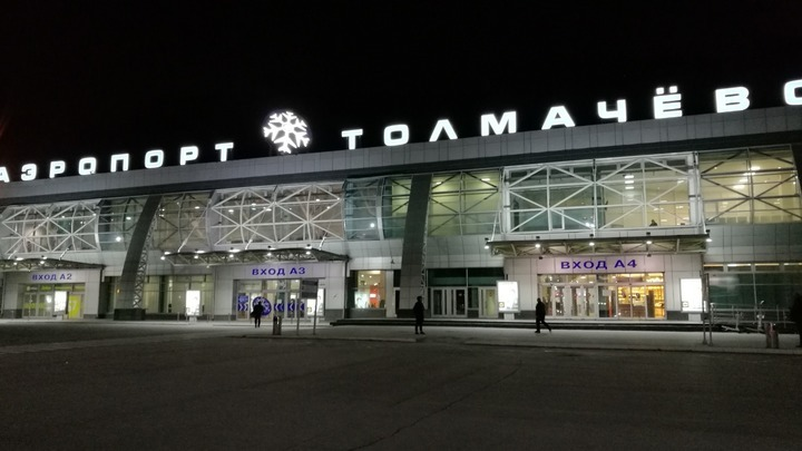 В инстаграме Толмачёво показали эксклюзивные кадры со стройки нового терминала