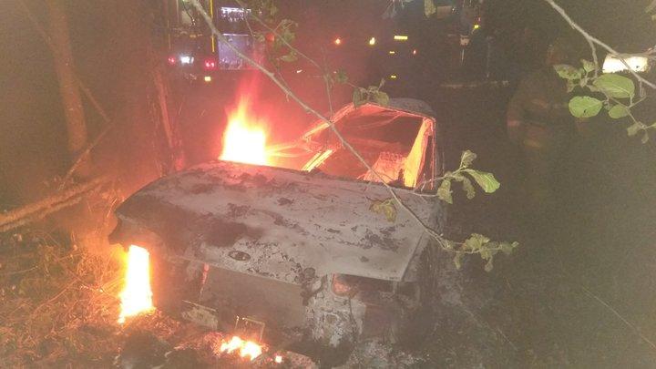 В Камешковском районе в аварии сгорел пассажир автомобиля