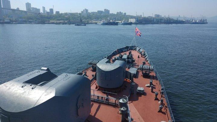 «Примут участие в военных учениях в Индии»: Российские корабли ТОФ вышли в Дальний поход