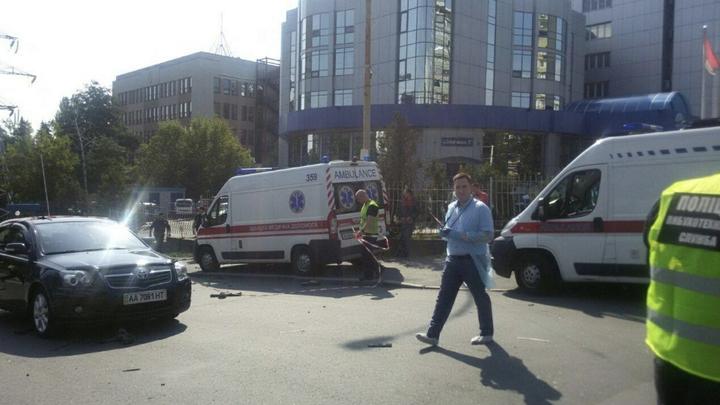 Турчинов: Взрыв в центре Киева мог быть терактом
