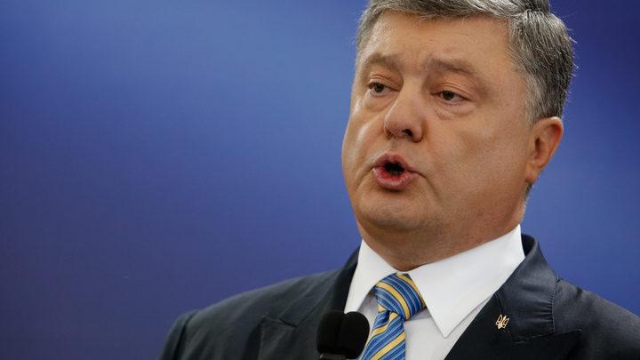 Прямо по Оруэллу: Порошенко назвал поставки оружия из США путем к миру в Донбассе
