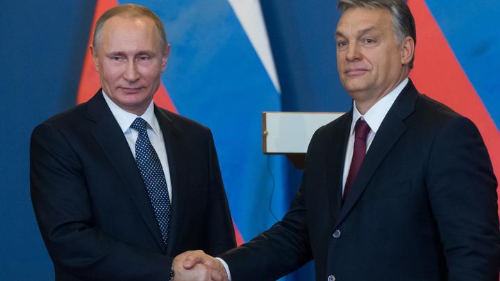Путин по приглашению властей Венгрии прибыл в Будапешт