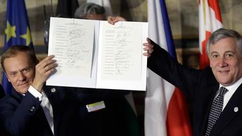 Римский саммит ЕС: поминки амбициозного проекта