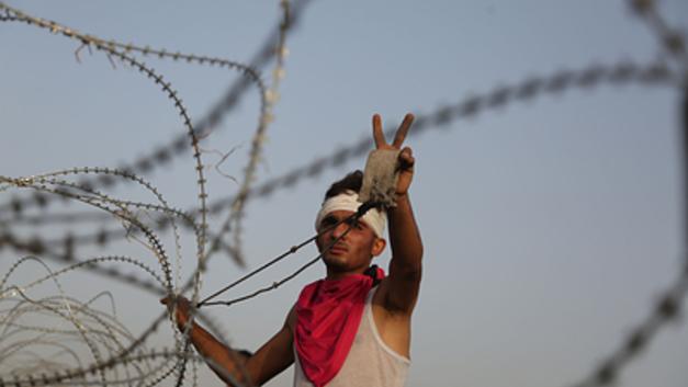 Сломанный забор довел ВВС Израиля до атаки по позициям ХАМАС в секторе Газа