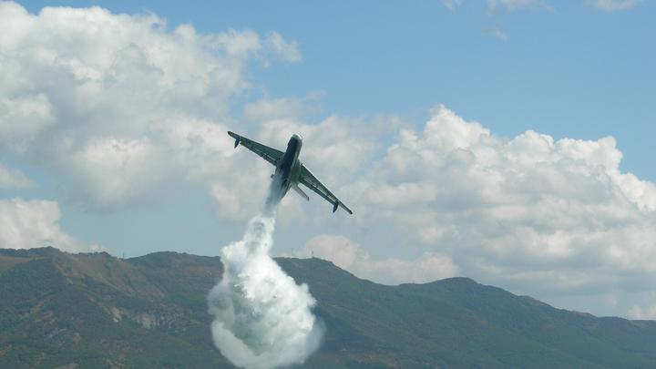 В Турции самолёт упал во время тушения пожаров