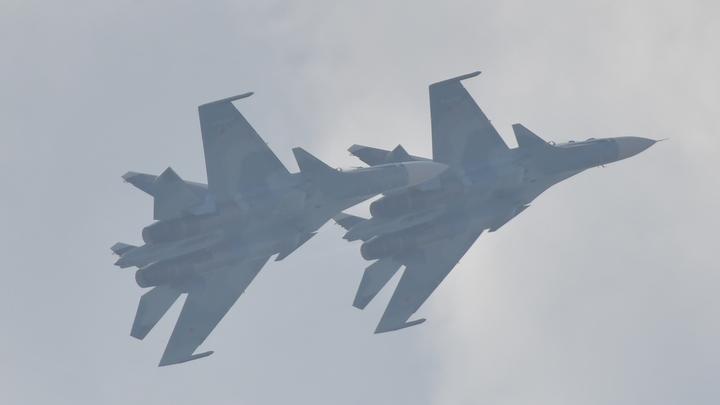 Русский ас до крика в эфире перепугал американских пилотов, пролетев