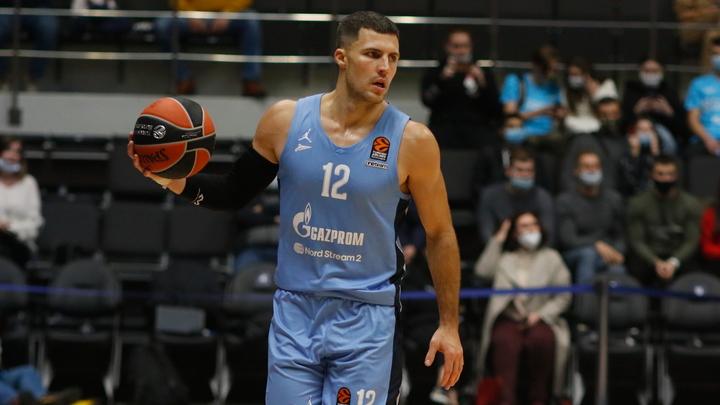 Матч баскетбольных команд «Зенит» - «Милан» отменили из-за коронавируса