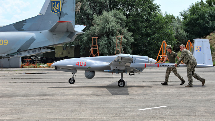 Украина испытала новые турецкие беспилотники на море
