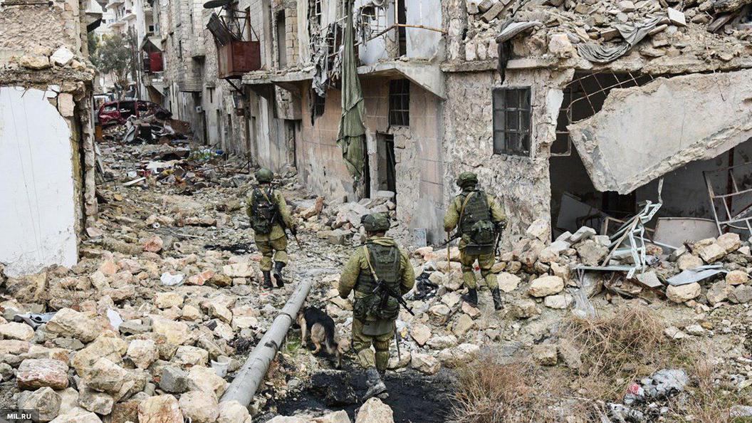 Десант западной коалиции высадился близ Дейр-эз-Зора на 20 минут