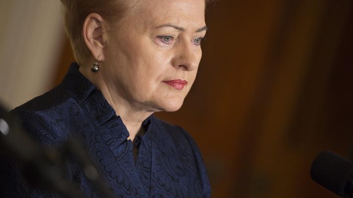 В Литве пожаловались, что Грибаускайте не приглашена на инаугурацию Путина