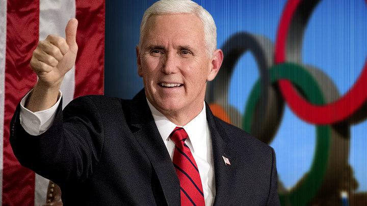 Бои без правил вице-президента США на Олимпиаде в Пхёнчхане