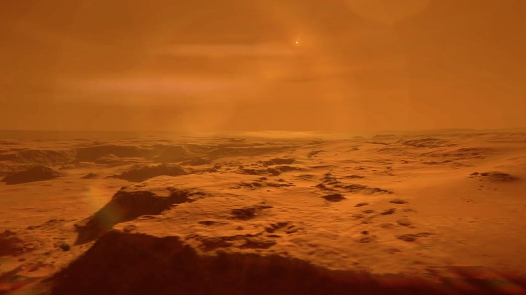 Ученые обнаружили на Марсе подземный тоннель пришельцев