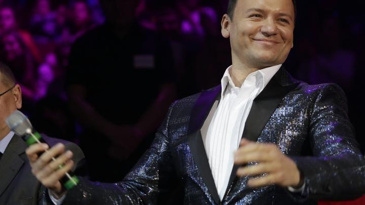 Телеведущий Олешко завершил свою минуту славы на Первом канале