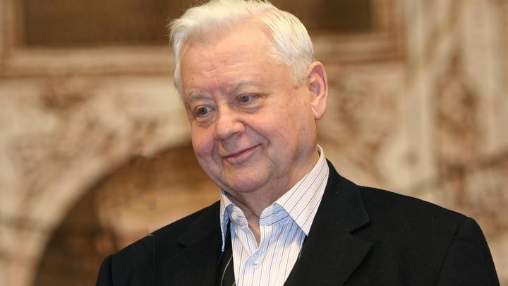 Олег Табаков умер в московской больнице