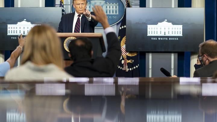Трамп посочувствовал России из-за COVID: В США - 4 млн случаев, в нашей стране - в 5 раз меньше